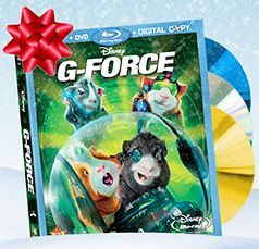 $10 or $15 Off G-Force Blu-Ray Combo