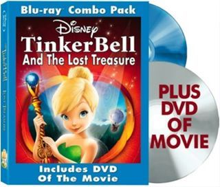 TinkerBell on Blu-Ray/DVD Combo for $6.99