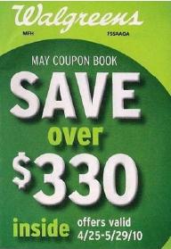 Walgreens May Coupon Booklet