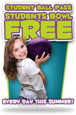 Brunswick Zone: Kids Bowl Free This Summer
