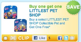 "Toys ""R"" Us: Two Free Littlest Pet Shop Collectibles (Updated)"