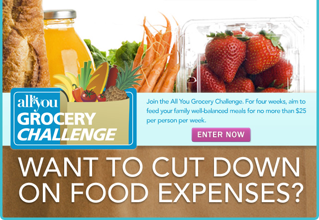 All You Grocery Challenge: Feed Your Family for $25/Person