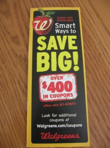 Walgreens August Coupon Booklet