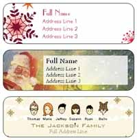 personalized address labels walgreens