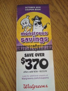 Walgreens October Coupon Booklet
