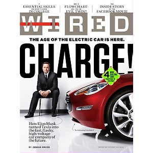 Free 1-Year Subscription to Wired Magazine or $12 Cash Back