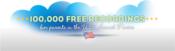 A Story Before Bed: Free Recordings for Military Parents