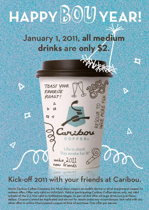 caribou coffee birthday coupon 2019