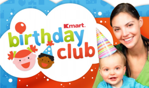 Kmart Birthday Club: Free $5 Birthday Bucks + Birthday Fun Pack For Kids