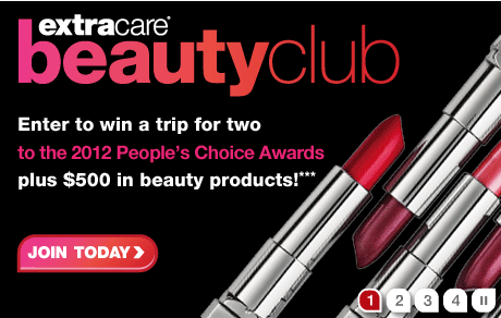 Join CVS Extra Care Beauty Club and Earn Free Extra Care Bucks