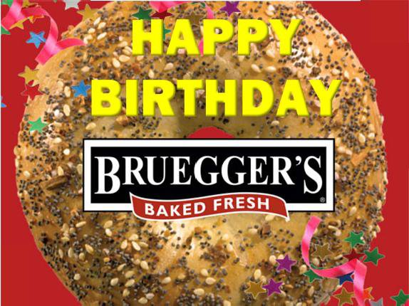 Bruegger's: 3 Free Bagels Until 2pm Today (2/8)