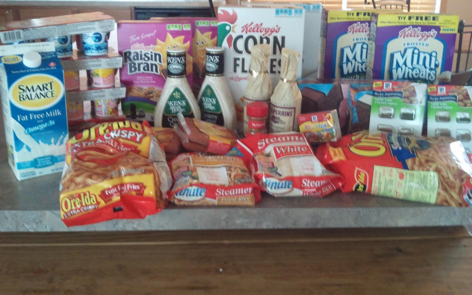 Results: How Nita Paid Just $2.41 For Over $90 Worth of Groceries (A 97% Savings)