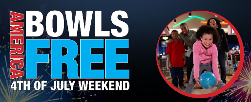 Brunswick Bowling: Free Game of Bowling This Weekend (7/1-7/4)