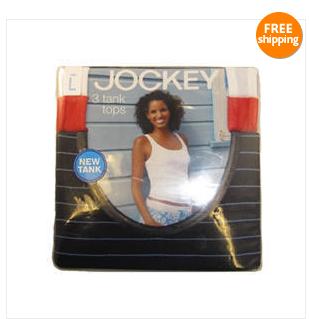 d3a0610e2f5b9b Get a 3-pack of Jockey Women s Classic Tank Tops from Jockey Store via eBay  for  4.99 shipped ...