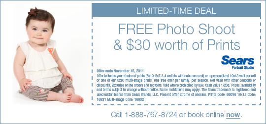 Freebies: Sears Photo Shoot, Slice of Pizza, Business eBook + More