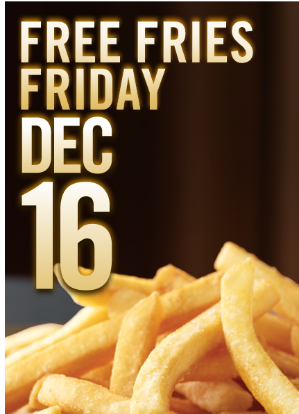 Restaurant Deals: Free Fries at Burger King, Breakfast with Santa at White Castle + More