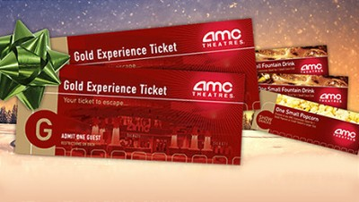 Goldstar AMC Theatres Movie Ticket Concessions For 2750