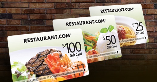 Spend $19.99 for $175 Worth of Restaurant.com Gift Cards