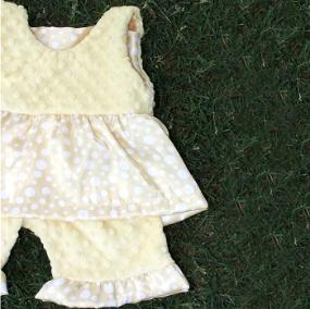 Bebe Bella Designs: 80% Off Minky Chenille Baby Clothes
