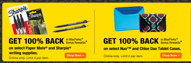 OfficeMax: Free Paper Mate Pens and Sharpie Markers, Keurig Brewing System Gift Card Deal + More (through 2/25)