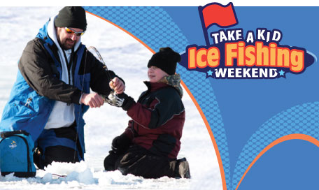 take a kid ice fishing