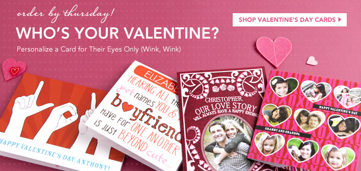 Photo Deals: Custom Valentine's Day Card for $0.99 Shipped, $30 Off at Paper Coterie + More
