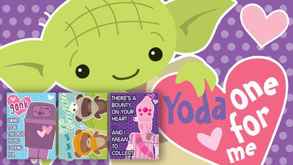 photograph about Printable Star Wars Valentines titled Freebies: Printable Star Wars Valentines, Jetpack Joyride Application