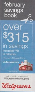 Walgreens February Coupon Booklet 1/29 – 2/25/12