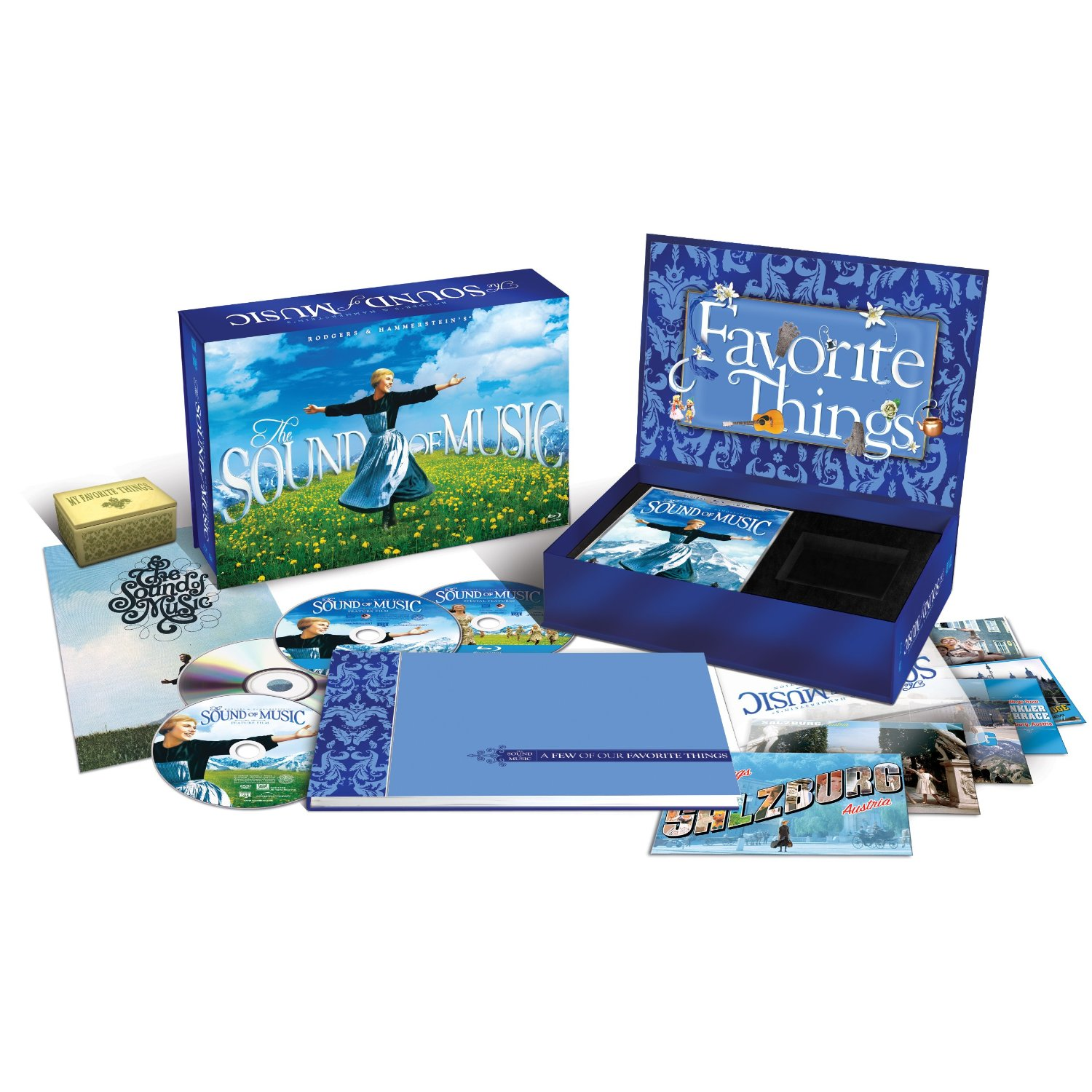 Sound Of Music Limited Edition Blu-Ray/DVD Set For $33