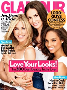 glamour magazine october 2011