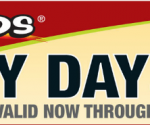 menards crazy days sale