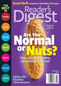 reader's digest march 2012