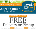 Local Deals: Free Lunds & Byerly's Grocery Delivery, Free Round of Golf, $5 Water Park Passes + More