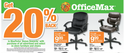 Officemax Deals On Office Chairs Copy Paper More
