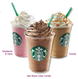 starbucks frappuccino happy hour