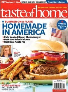 taste of home june july 2012