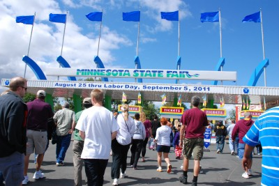 MN State Fair Main Gate