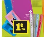 Office Depot: Notebooks, Rulers and Vinyl Pouches for 1Ã' ¢ + More (Exp 8/18)