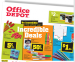Office Depot: Eraser Caps and Tissue Packs for 5  ¢ Each, Free Backpack with Online Order of $50+ (Exp 9/1)
