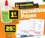 Office Depot: Glue for 1  ¢, Filler Paper for 25  ¢, Free Sharpie Highlighters + More (Exp 8/11)