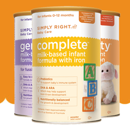 simply right baby formula sample