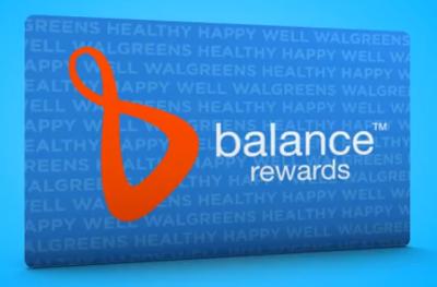 Walgreens' Rewards Program: Balance Rewards (Now Able to Redeem at 1,000 Points)