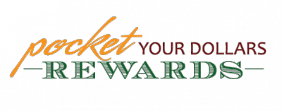 Pocket Your Dollars Rewards logo