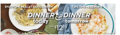 olive garden dinner today dinner tomorrow