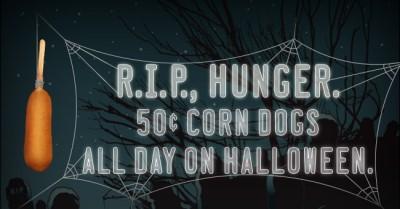 sonic corn dogs halloween