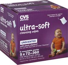CVS baby wipes