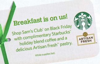 Black Friday Freebies: Half Price Books Gift Card, Coffee at Sam's ...