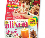 *STILL AVAILABLE* All You: Get Two 1-Year Subscriptions for $19.95 Total (One for You and One for a Friend)