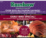 Rainbow Foods, Copps, Pick N Save Coupon Booklet 11/1 – 11/10/12