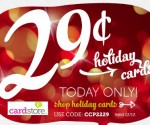 Holiday Cards 29  ¢ Each Shipped to Your Recipients from Cardstore.com *Today Only* (Exp 12/12)